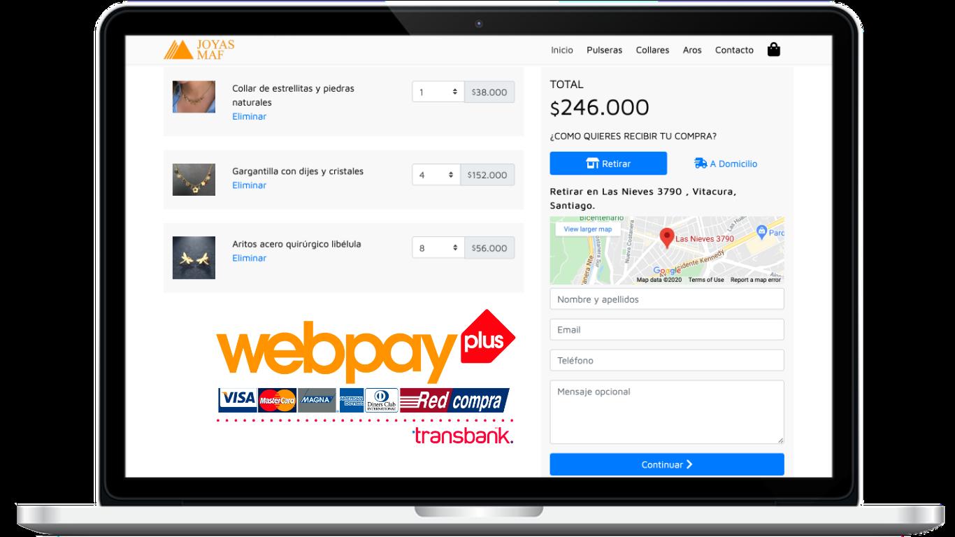 Página Web Ecommerce